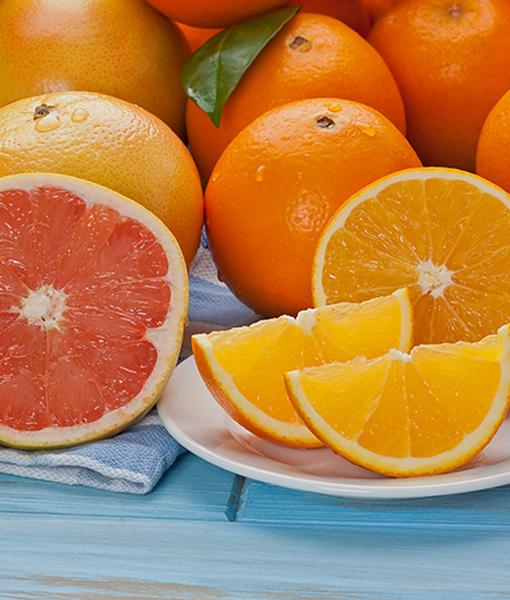 Navel Oranges & Ruby Red Grapefruit