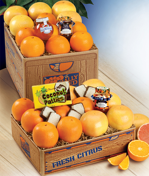 Deluxe with Oranges & Grapefruit