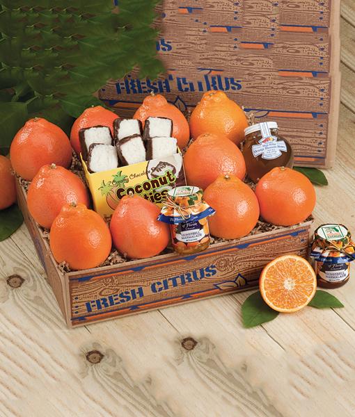 Deluxe with Honeybells & Grapefruit