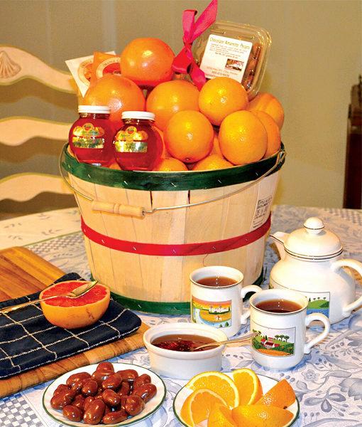 Tea Time Baskets