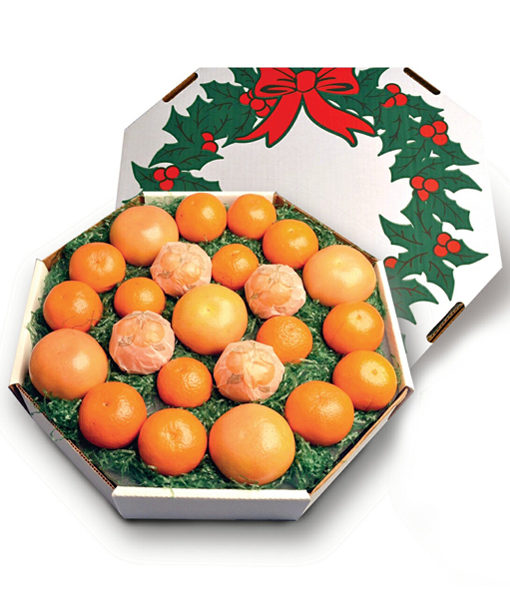 Christmas Wreath Sunshine Box