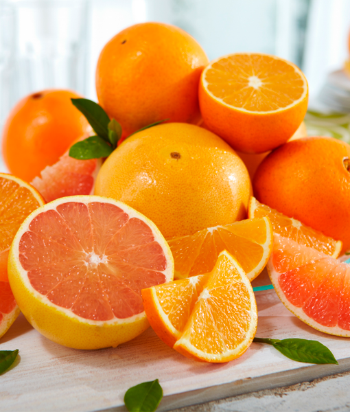 Scarlet Navel Oranges & Ruby Red Grapefruits